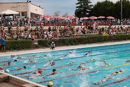 Lo spettacolo del triathlon per la prima volta a Crema