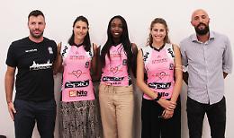 Vbc, ecco i volti nuovi del team rosa di Casalmaggiore