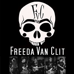 Drunkards + Freeda Van Clit Live Rock Music