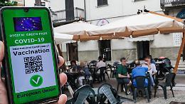 Green pass con una dose per ristoranti al chiuso ed eventi dal 5 agosto