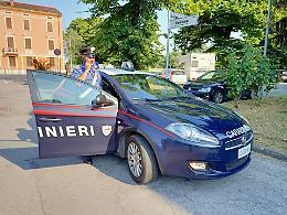 Ubriaco, investe ciclista a Madignano e fugge: fermato a Cremona