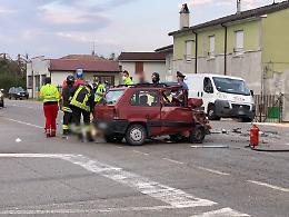 Terribile tamponamento sulla Padana Inferiore, muore Salvatore Corda