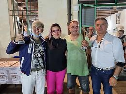 Bocce sulla sabbia: vince la coppia Cortesini-Toninelli