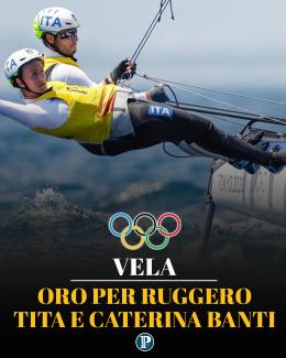 Vela, gli italiani Tita-Banti medaglia d'oro nella classe Nacra 17