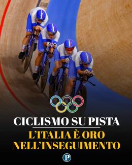 Ciclismo su pista, Italia inseguimento oro e record del mondo