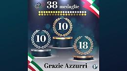 Per l'Italia è record assoluto: 38 medaglie olimpiche