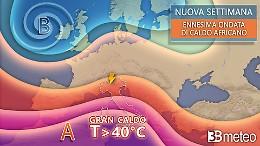 In arrivo l'ennesima ondata di caldo africano