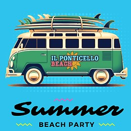 Summer Beach Party al Ponticello