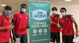 Cremonese: Zanimacchia, Okoli, Frey e Sernicola vaccinati all'hub di Cremona