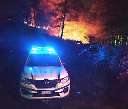 Incendi in Calabria, i volontari: «Stremati, ma arricchiti»