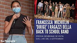 """Francesca Michielin a Cremona: """"La Back to School è una band pazzesca!"""""""