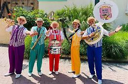 Gardaland, Cesare «Ciuma» Galli anima della Dixie Band