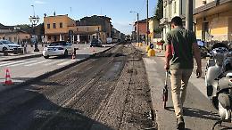 San Giovanni in Croce, iniziata l'asfaltatura dell'Asolana