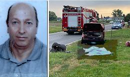 Terribile scontro frontale, muore il 62enne Bruno Mastroianni. Grave un 48enne