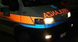 Cade in moto, 53enne ricoverato in prognosi riservata
