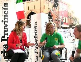 L'omaggio di Cremona ai suoi olimpionici