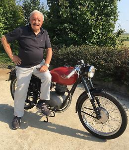 Cibolini e quella moto Gilera