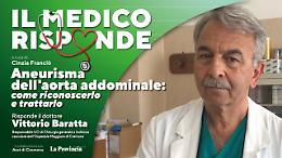 «Aneurisma dell'aorta addominale», patologia ad alto rischio