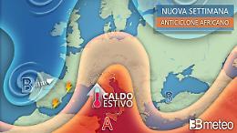 Sarà ancora estate, caldo con punte di oltre 32-33°C ma anche temporali