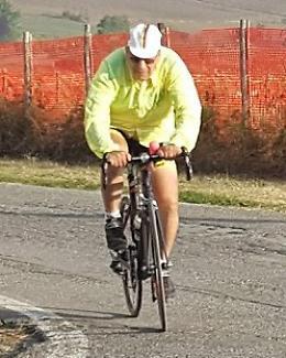 Giro del lago d'Iseo in bici: Rebeccani, 88 anni e non sentirli