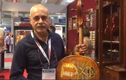 Cremona Musica, il violoncello di Fabrizio Di Pietrantonio s'ispira ad Andrea Amati