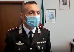 Massimiliano Girardi nuovo comandante del reparto operativo dei carabinieri