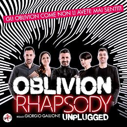 OBLIVION RHAPSODY, lo show musicale del quintetto di voci Oblivion