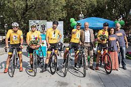 Fibrosi cistica, i protagonisti del Bike Tour: emozioni e motivazioni