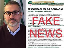 Cremona, distribuiti volantini No Vax a firma Cisl: sono falsi