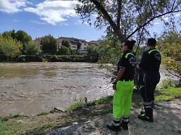I fiumi fanno paura: Protezione civile allertata