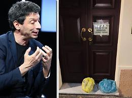 Spazzatura lasciata sulla porta di casa, Galimberti: sporgerò denuncia