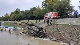 Valanga di tronchi nel Fiume Po, scende in campo la prefettura