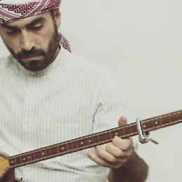 Ashti Abdo polistrumentista Musica curda