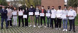 Estate alternativa, a Crema premiati 13 studenti dello Stanga