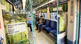 Pendolari stressati: treno metropolitano per meditare