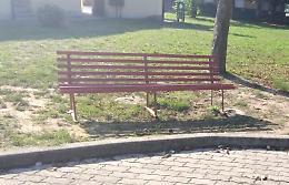 Ladro pentito: la panchina rossa ricompare nel parco