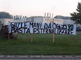 """""""Giù le mani dall'Oglio Po"""", protesta a tutela del presidio ospedaliero"""