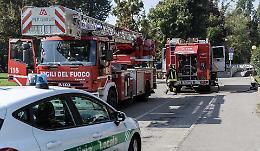 Incendio al Cambonino, dimessi i tre intossicati
