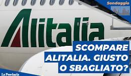 Alitalia addio: cosa ne pensi? Giusto o sbagliato?