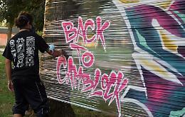 Il Cambonino è il regno della street art: 200 giovani in festa
