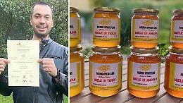 Mieli di Lombardia, l'apicoltore Merigo nel gotha