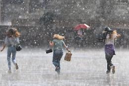 Rischio di forti temporali dalle 9 di martedì 13 luglio