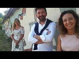 """Inaugurati il Parco Verdello  e il murale dedicati a Romolo, il nipote: """"Sono molto emozionato"""""""