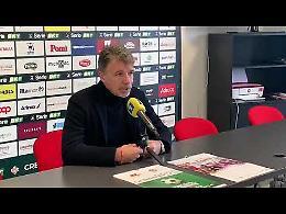 VIDEO2 Cremonese, la conferenza stampa pre gara di mister Baroni