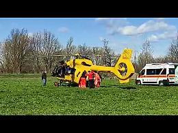 VIDEO Gravissimo incidente stradale sulla Melotta