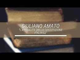 La Costituzione italiana spiegata agli studenti da Giuliano Amato