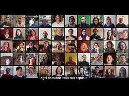 VIDEO Da Cremona un coro virtuale di 50 voci