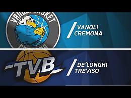 VIDEO Gli highlights della gara tra Vanoli Cremona e De'Longhi Treviso