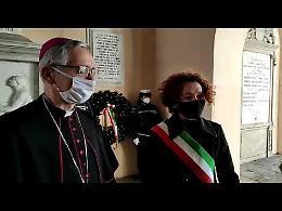 Crema, videointervista a Stefania Bonaldi e al vescovo Daniele Gianotti