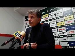 VIDEO Cremonese-Perugia 2-1: il commento di mister Baroni